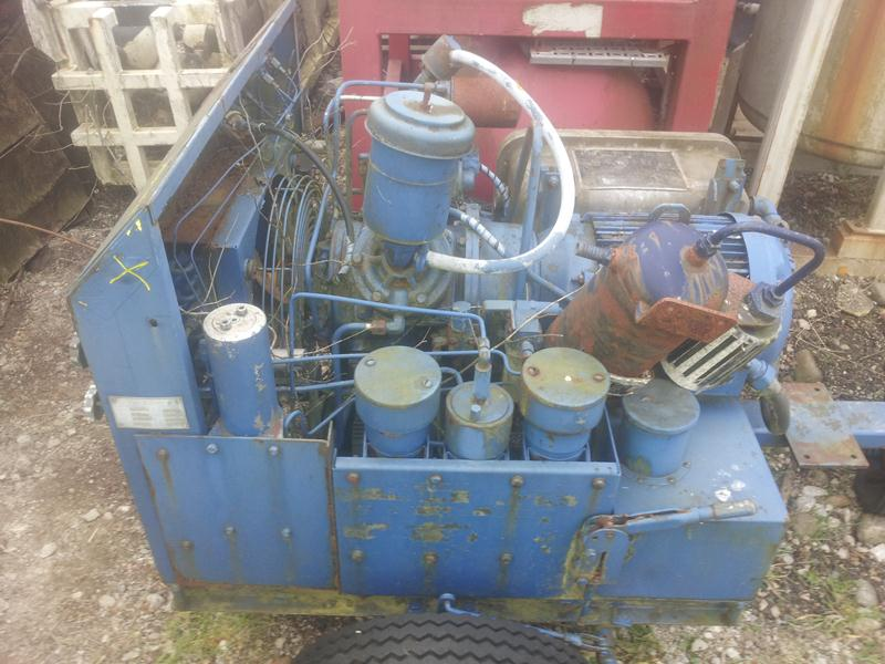 Davey Electric HP Compressor 15cfm