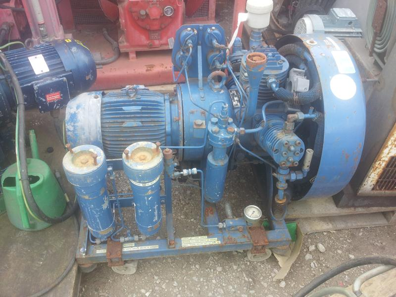 William and James 10cfm Compressors