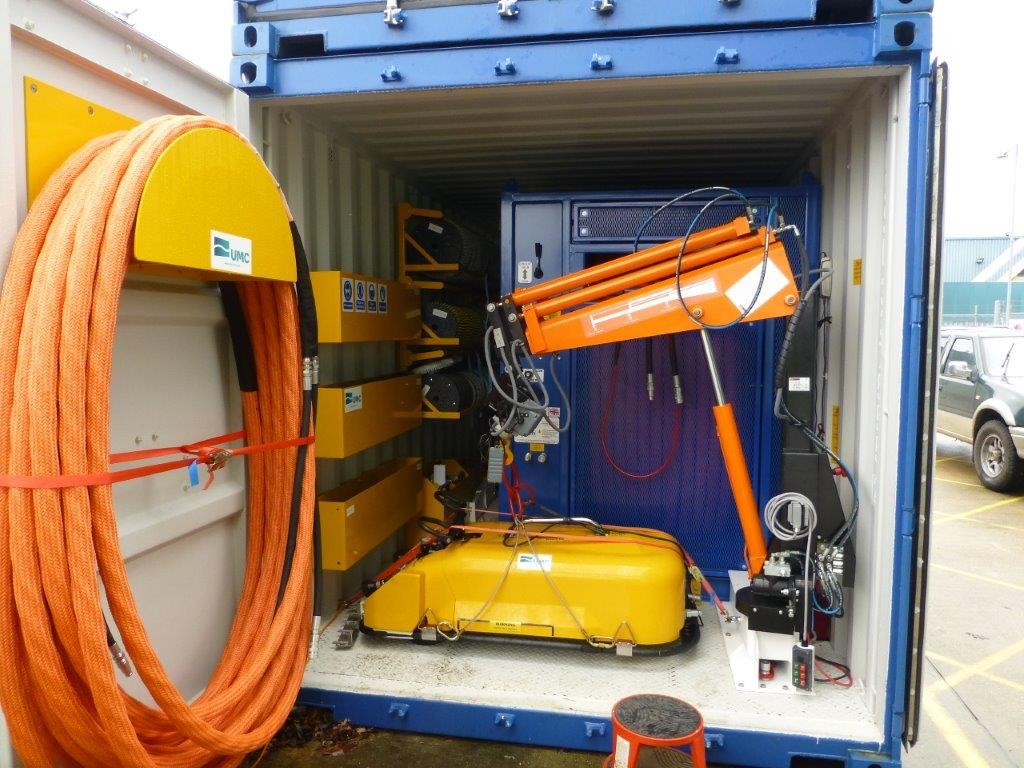 Containerised Hull Cleaning System